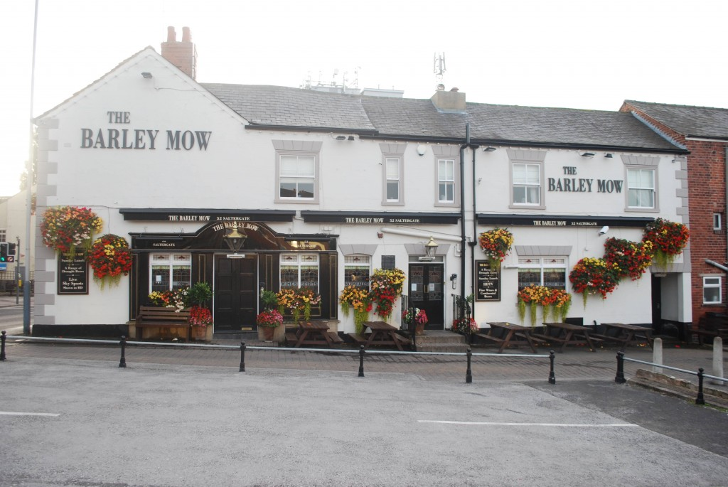 Outside View of the Barley Mow Pub