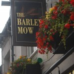 The Barley Mow Pub Sign