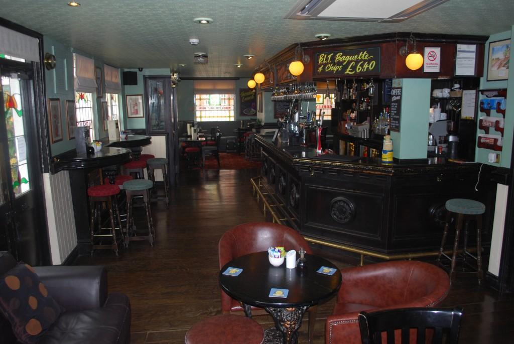 The whole Bar area